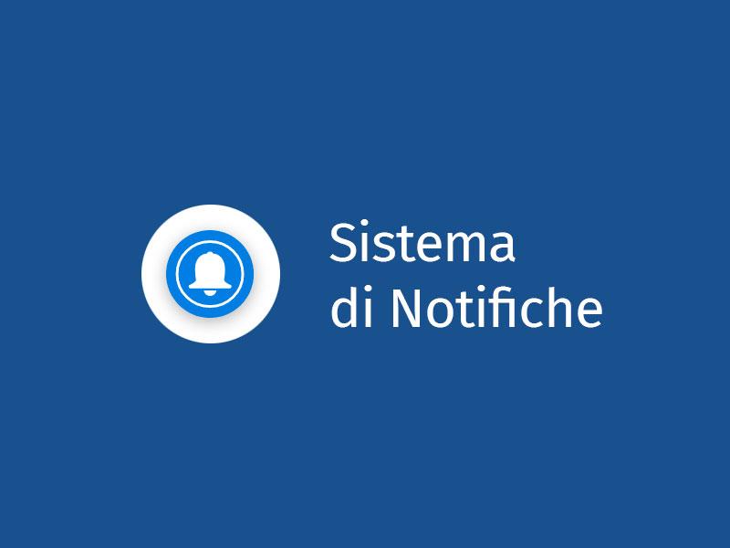 sistema di notifiche web